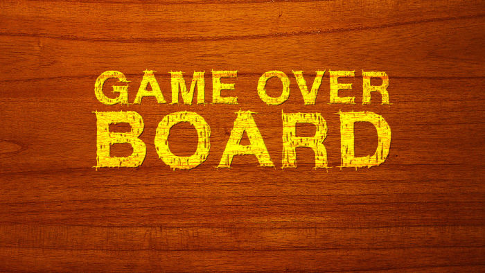 Game Over Board
